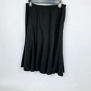 Dalia Dark Gray Midi Skirt